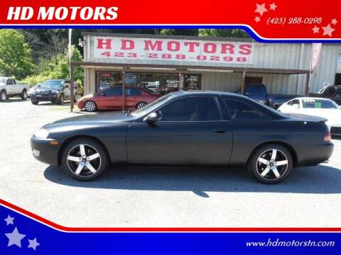 1995 Lexus SC 400 for sale at HD MOTORS in Kingsport TN