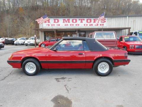 1986 Ford Mustang for sale in Kingsport, TN
