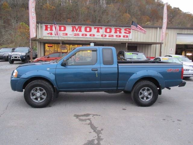2004 Nissan Frontier 2dr King Cab Xe V6 4wd Sb In Kingsport Tn Hd
