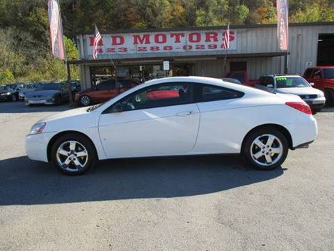 Used Pontiac G6 For Sale In Kingsport Tn