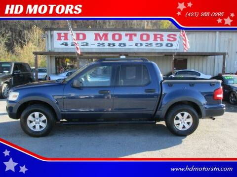 2007 Ford Explorer Sport Trac for sale at HD MOTORS in Kingsport TN
