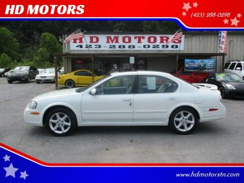 2003 Nissan Maxima for sale at HD MOTORS in Kingsport TN