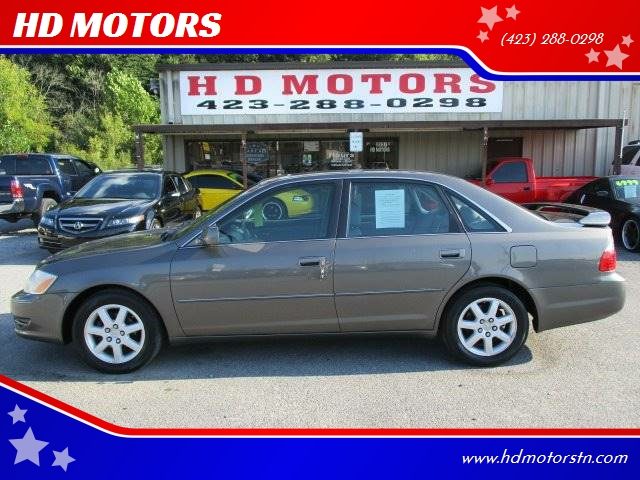 2003 Toyota Avalon XLS 4dr Sedan W/Bucket Seats   Kingsport TN