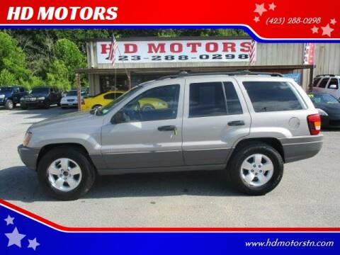 2002 Jeep Grand Cherokee for sale at HD MOTORS in Kingsport TN