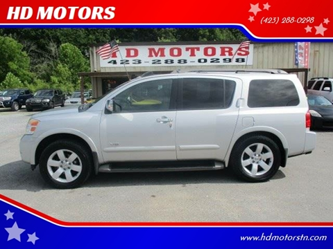 2008 Nissan Armada For Sale In Kingsport, TN