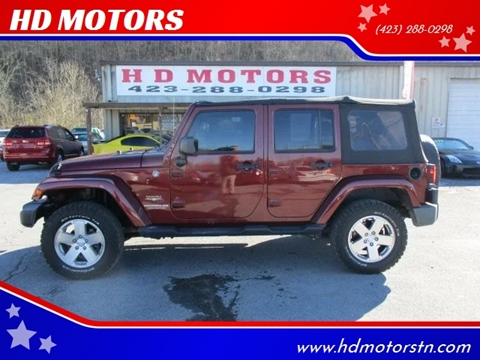 2008 Jeep Wrangler Unlimited for sale in Kingsport, TN