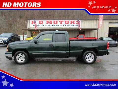 2006 Chevrolet Silverado 1500 for sale at HD MOTORS in Kingsport TN