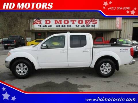 2006 Nissan Frontier for sale at HD MOTORS in Kingsport TN