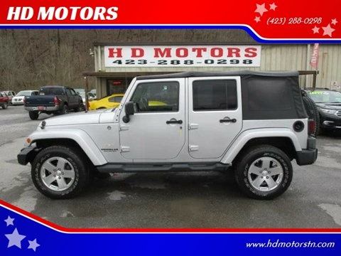 2009 Jeep Wrangler Unlimited for sale in Kingsport, TN