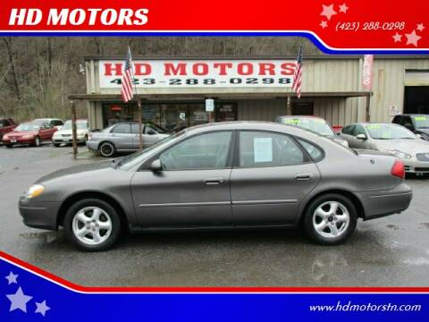2003 Ford Taurus for sale at HD MOTORS in Kingsport TN