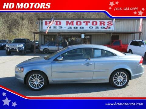 2006 Volvo C70 for sale at HD MOTORS in Kingsport TN