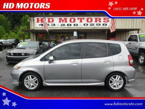 2008 Honda Fit for sale at HD MOTORS in Kingsport TN