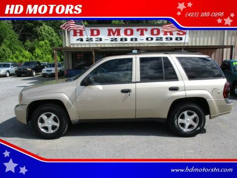 2006 Chevrolet TrailBlazer for sale at HD MOTORS in Kingsport TN
