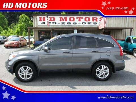 2011 Honda CR-V for sale at HD MOTORS in Kingsport TN