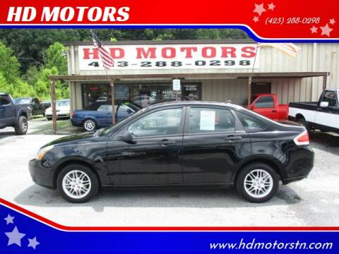 2010 Ford Focus for sale at HD MOTORS in Kingsport TN