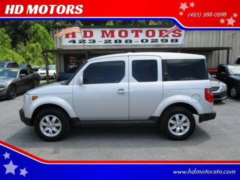 2006 Honda Element for sale at HD MOTORS in Kingsport TN