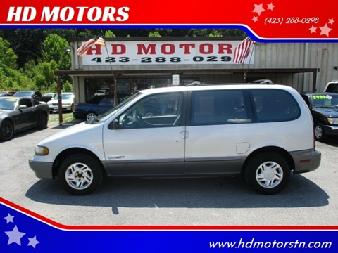 1997 Nissan Quest for sale in Kingsport, TN