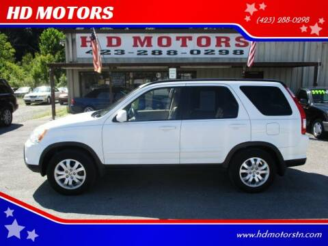 2006 Honda CR-V for sale at HD MOTORS in Kingsport TN