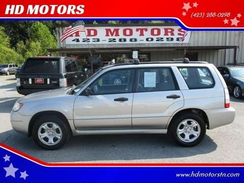 2007 Subaru Forester for sale in Kingsport, TN