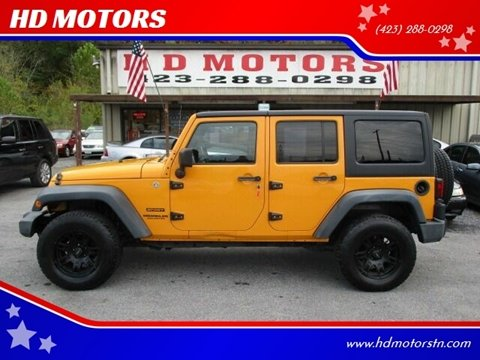 2012 Jeep Wrangler Unlimited for sale in Kingsport, TN
