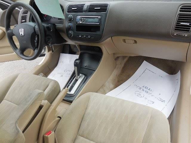 2004 Honda Civic LX 4dr Sedan - Kingsport TN