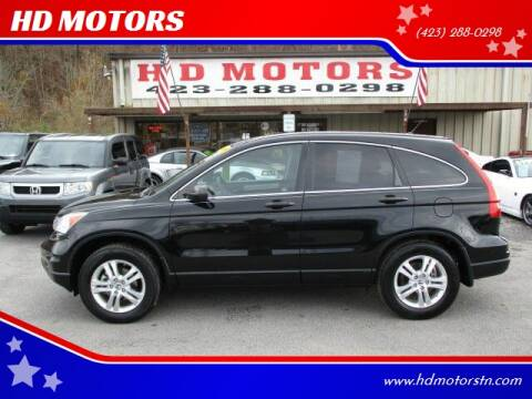 2010 Honda CR-V for sale at HD MOTORS in Kingsport TN