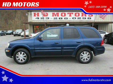 2004 Buick Rainier for sale at HD MOTORS in Kingsport TN