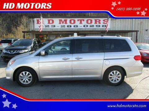 2009 Honda Odyssey for sale at HD MOTORS in Kingsport TN