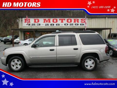 2003 Chevrolet TrailBlazer for sale at HD MOTORS in Kingsport TN