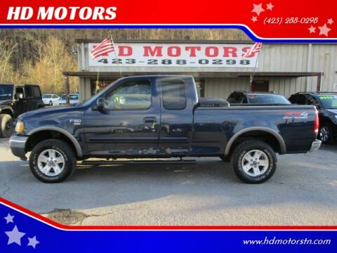 2002 Ford F-150 for sale at HD MOTORS in Kingsport TN