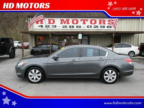 2008 Honda Accord for sale at HD MOTORS in Kingsport TN