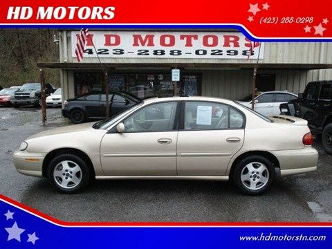 2003 Chevrolet Malibu for sale at HD MOTORS in Kingsport TN
