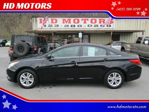 2012 Hyundai Sonata for sale at HD MOTORS in Kingsport TN