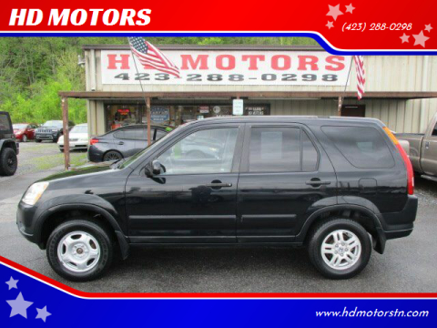 2002 Honda CR-V for sale at HD MOTORS in Kingsport TN