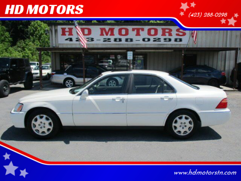 2000 Acura RL for sale at HD MOTORS in Kingsport TN