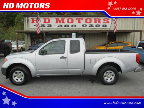 2007 Nissan Frontier for sale at HD MOTORS in Kingsport TN