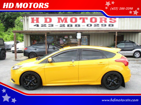 2013 Ford Focus for sale at HD MOTORS in Kingsport TN