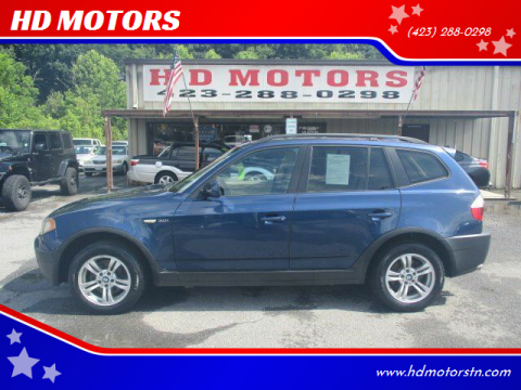 2005 BMW X3 for sale at HD MOTORS in Kingsport TN