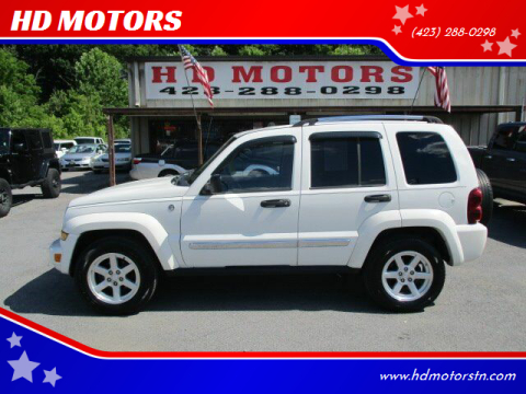 2006 Jeep Liberty for sale at HD MOTORS in Kingsport TN