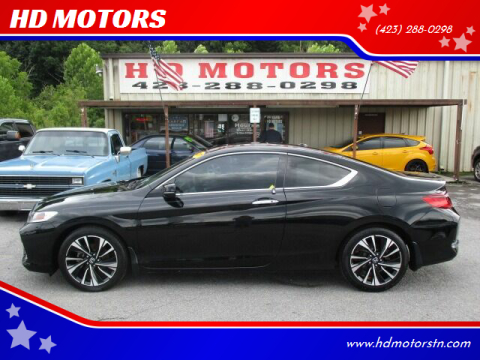 2017 Honda Accord for sale at HD MOTORS in Kingsport TN