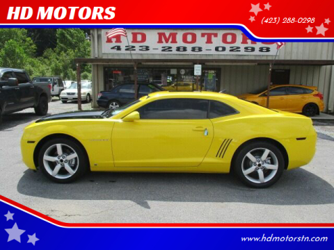 2010 Chevrolet Camaro for sale at HD MOTORS in Kingsport TN