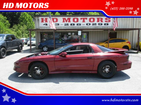 1994 Pontiac Firebird for sale at HD MOTORS in Kingsport TN