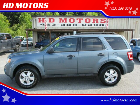 2011 Ford Escape for sale at HD MOTORS in Kingsport TN