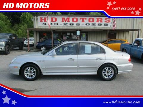 2003 Hyundai Sonata for sale at HD MOTORS in Kingsport TN