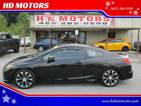 2012 Honda Civic for sale at HD MOTORS in Kingsport TN
