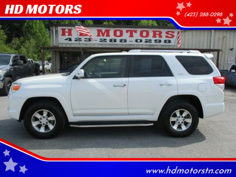 2013 Toyota 4Runner for sale at HD MOTORS in Kingsport TN