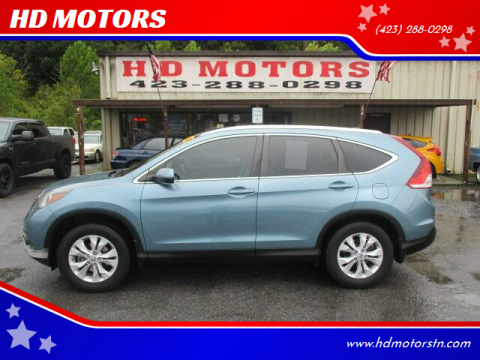 2013 Honda CR-V for sale at HD MOTORS in Kingsport TN