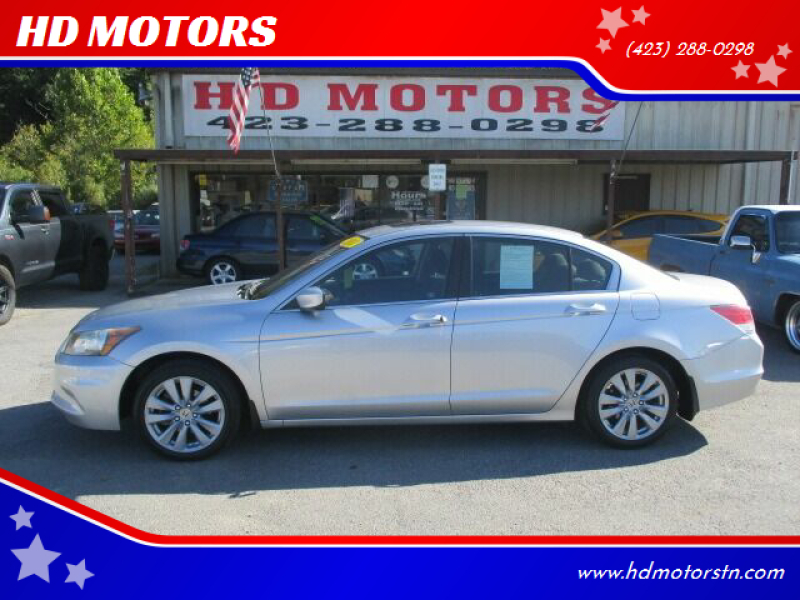 2011 Honda Accord for sale at HD MOTORS in Kingsport TN