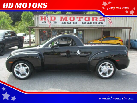 2003 Chevrolet SSR for sale at HD MOTORS in Kingsport TN