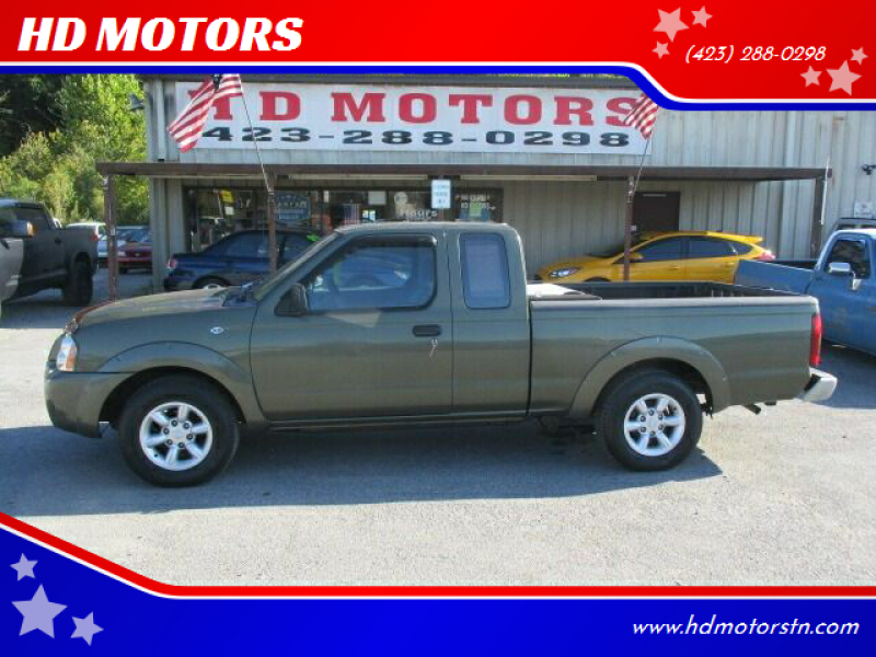 2003 Nissan Frontier for sale at HD MOTORS in Kingsport TN